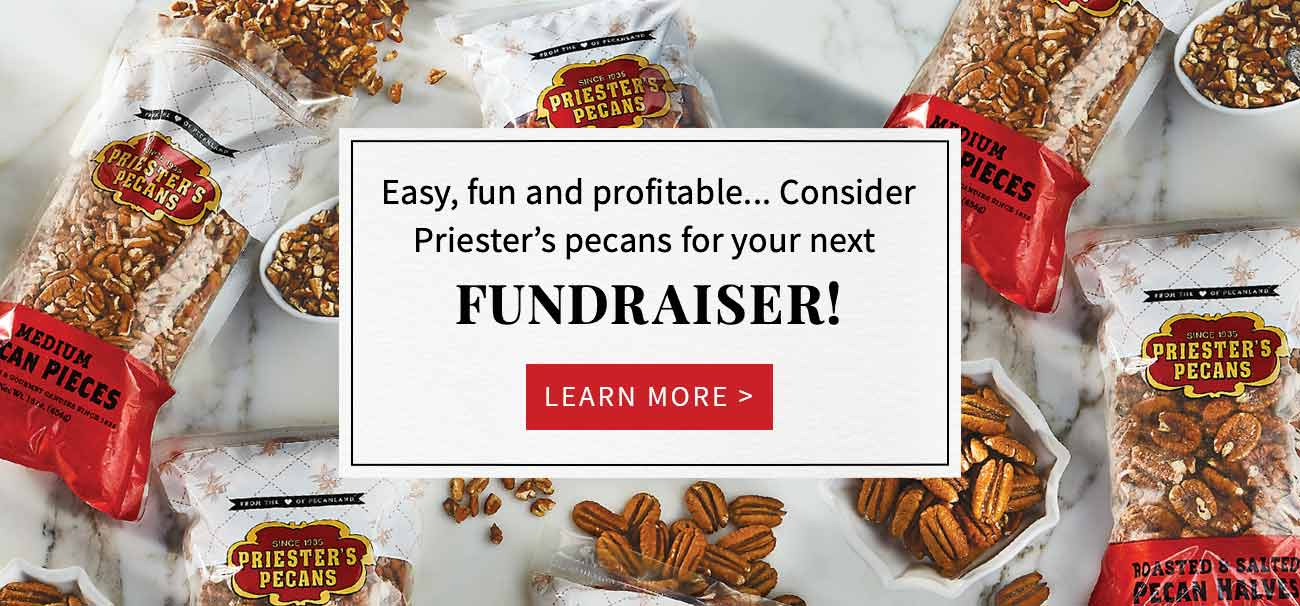 Fundraising with Priester's Pecans