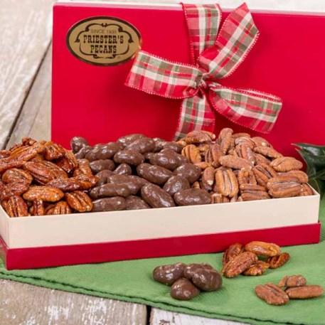 Festive Trio Pecan Sampler - Gift Box