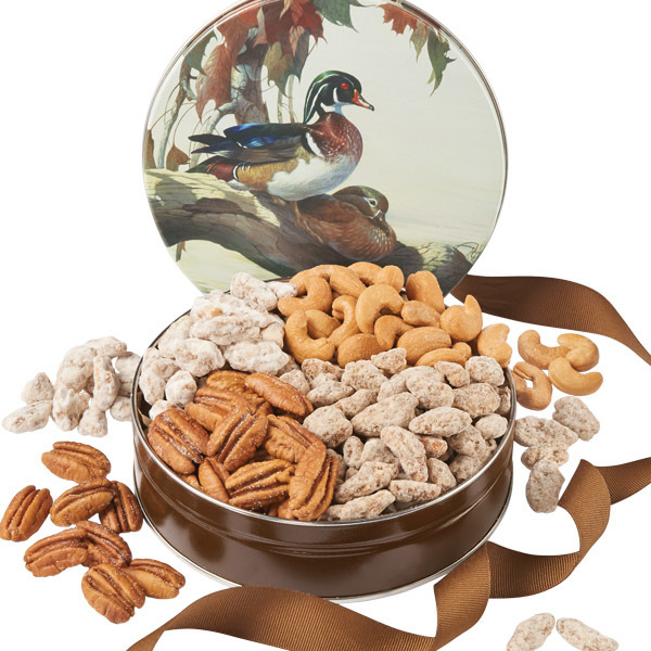 Mallard Ducks - 12 oz. Nutty Gift Tin