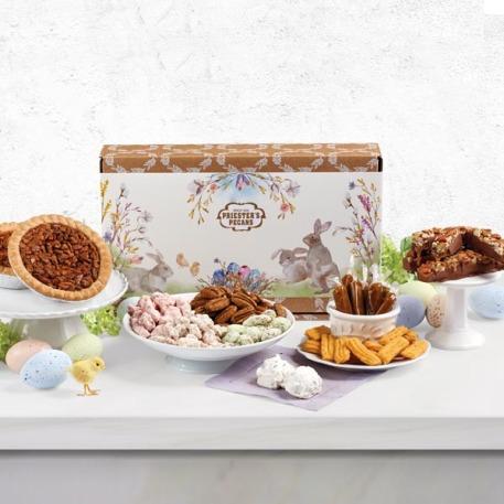 Easter Cheer Pecan Sampler Gift Box