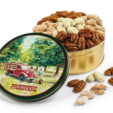 Southern Classic Pecan Gift Tin - Pecan Grove Tin