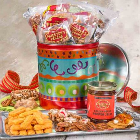Cheerful Celebration Pecan Assortment - Gift Pail