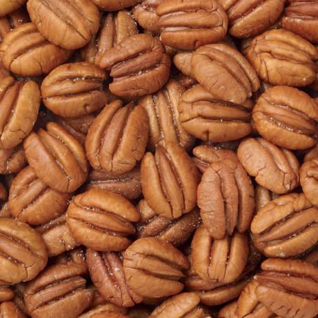 Jr. Mammoth (Elliotts) Roasted & Salted Pecans - 1 lb. Bag