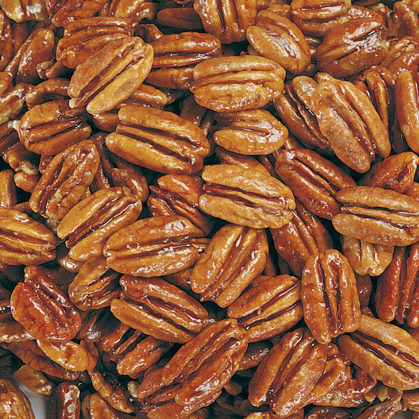 Honey Glazed Pecans - 2 Pounds (Economy Pack)