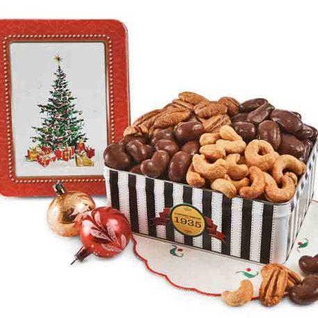 Oh Christmas Tree Gift Tin