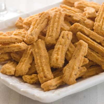 Betsy's Pecan Cheese Straws