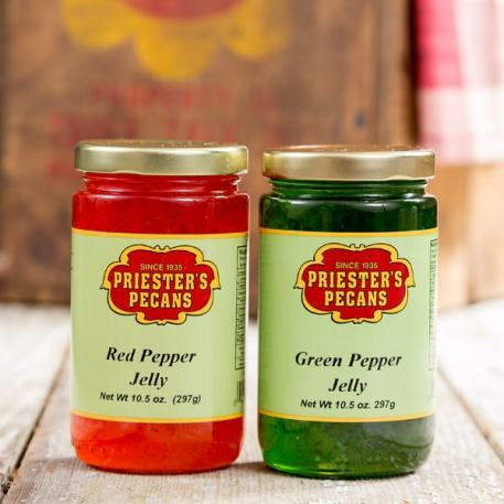 Red Pepper Jelly & Green Pepper Jelly Combo