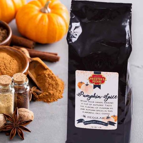 Pumpkin Spice Coffee - 1 lb. Ground