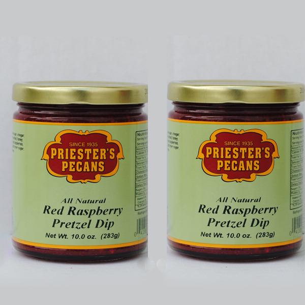 Red Raspberry Pretzel Dip