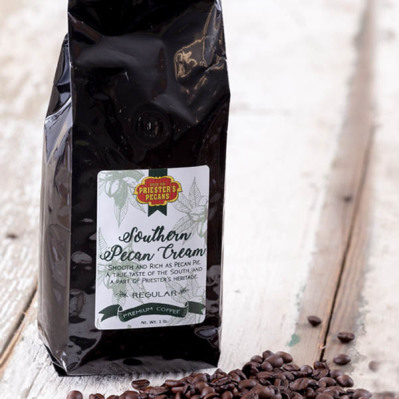 Southern Pecan Cream Coffee - 1 lb. Ground