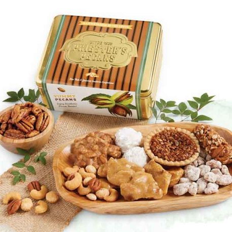 Southern Pecan Treats Gift Tin