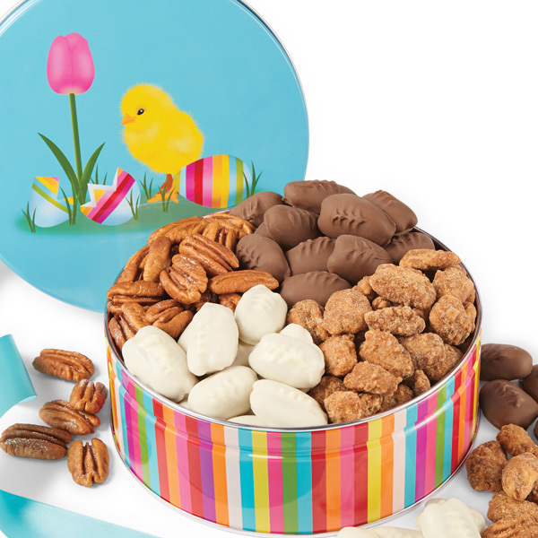 Sweet Easter Chick  Assorted Gift Tin