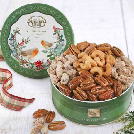 Sweet and Savory Gift Tin - Woodland Birds