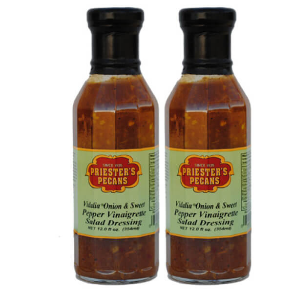 Vidalia Onion & Sweet Pepper Vinaigrette Salad Dressing