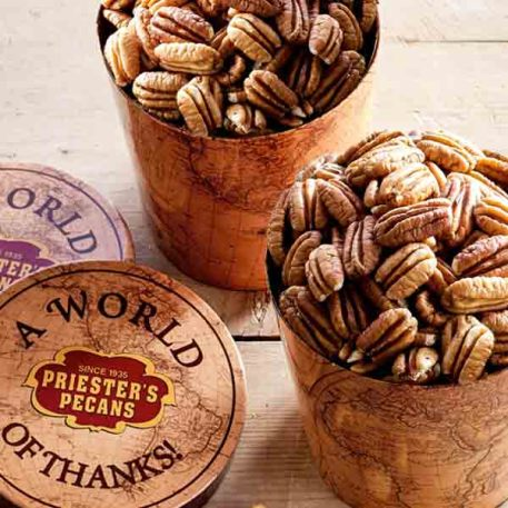 World of Thanks Tub - Natural Pecan Halves