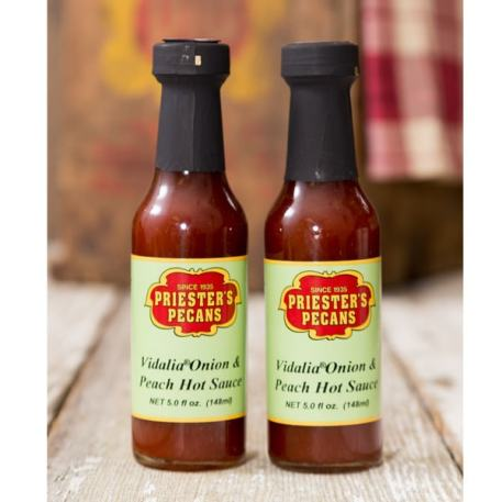 Vidalia Onion Peach Hot Sauce