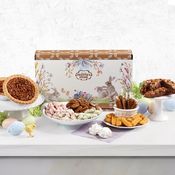 Easter Cheer Pecan Sampler Gift Box