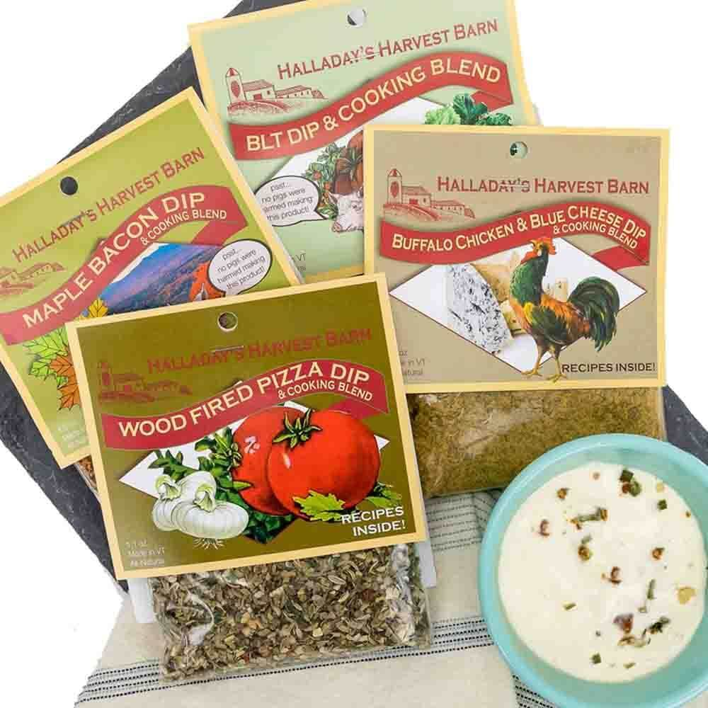 Gourmet Sampler Set of (4) Fresh Dip Mixes
