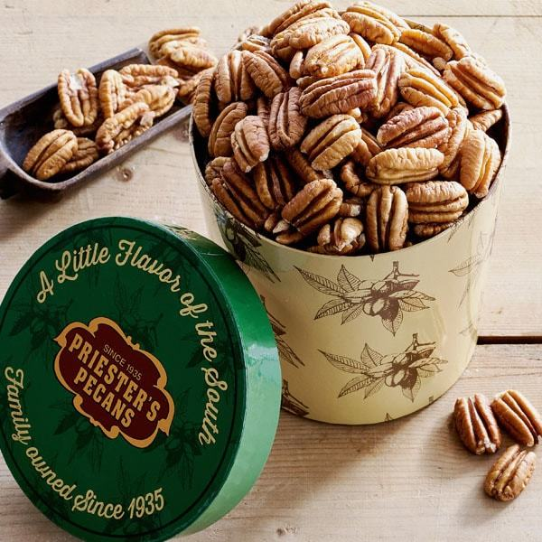 Priester's Signature Gift Tub - Natural Pecan Halves