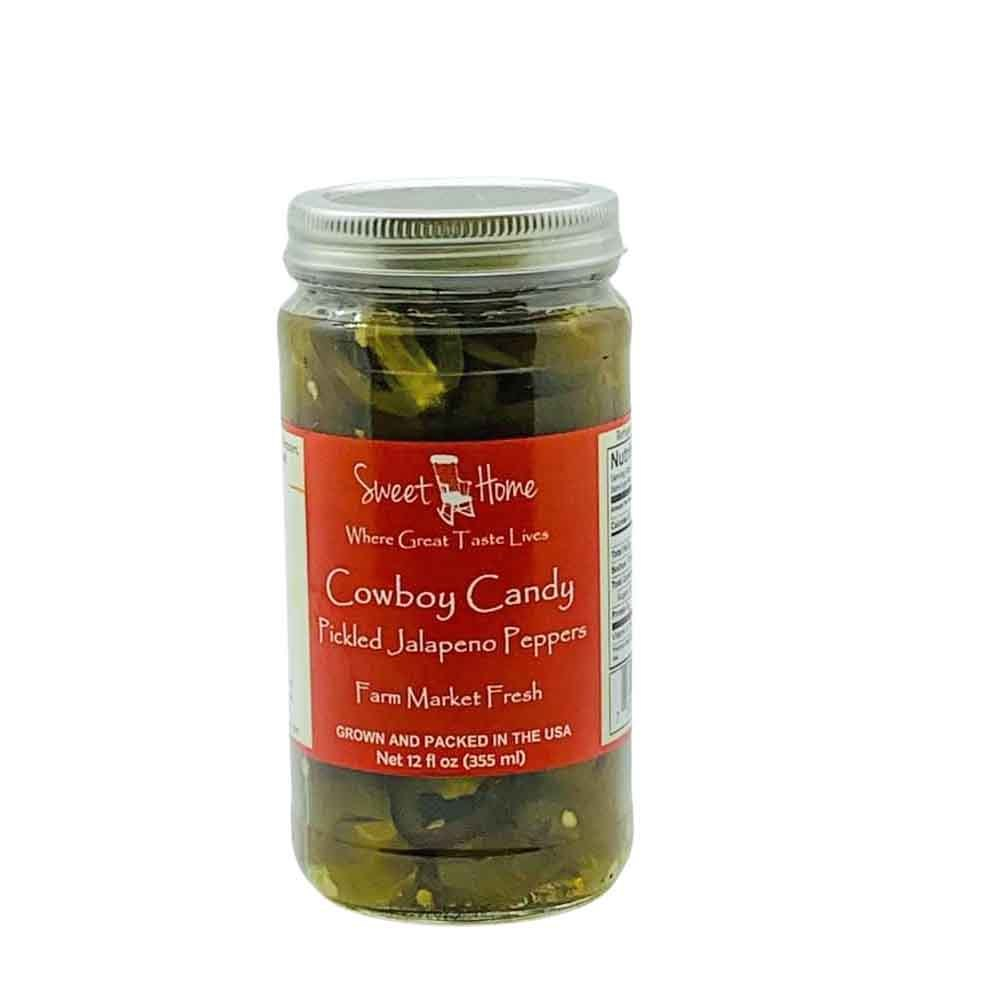 Sweet Home Cowboy Candy Pickles