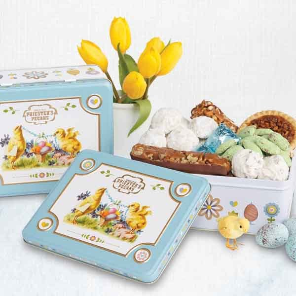 Easter Greetings Tin