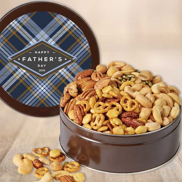 Father's Day Pecan Gift Tin