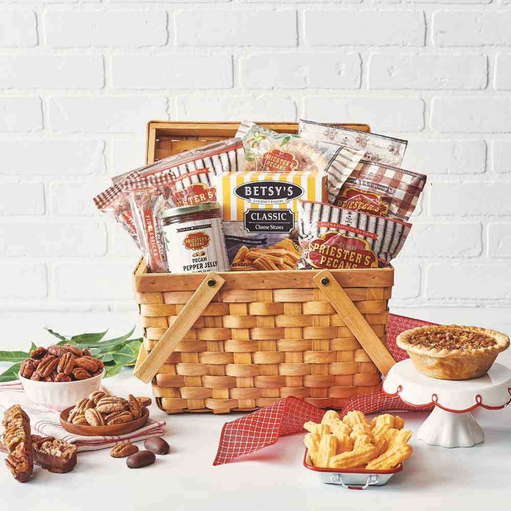Home for the Holidays Grand Gift Basket