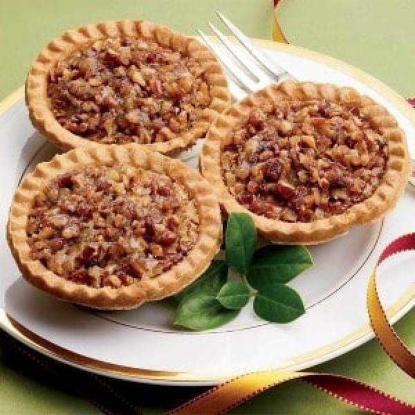 No Sugar Added Mini Pecan Pies