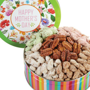 Mother's Day Pecan Variety Gift Tin