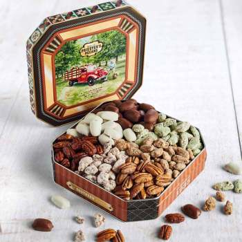 Seven Pecan Favorites - Pecan Grove Gift Tin