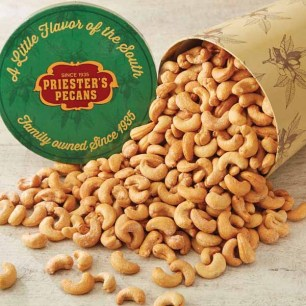 Priester's Signature Gift Tub - Roasted & Salted Cashews