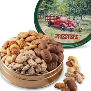 Nutty Assortment Gift Tin