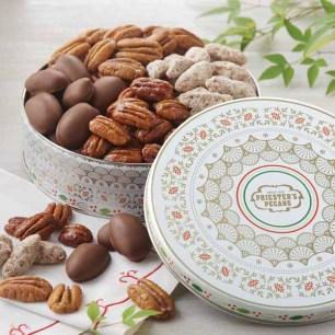 Sweet and Salty Pecan Combo (Gift Tin) - Sweet & Salty Pecan Gift Tin