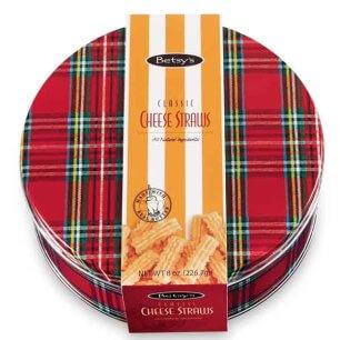 8 oz. Classic Cheese Straws Gift Tin
