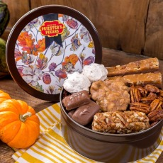 Autumn Splendor Pecan Gift Tin