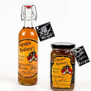 Captain Rodney's Pepper Glaze and Jezebel Sauce Combo