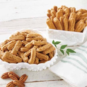 Betsy's Cheese Straws - Pecan Cheese Straws
