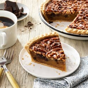 Chocolate Pecan Pie - 2 Pack Chocolate Pecan Pies (Gift Boxed)