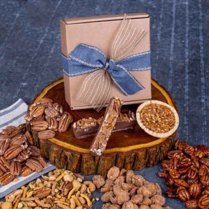 Dearest Dad Father's Day Pecan Gift Box