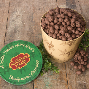 Priester's Signature Gift Tub - Double Dipped Chocolate Peanuts