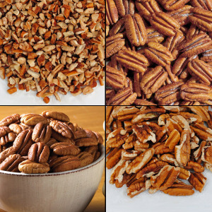Pecans and Nuts (2 lbs. Economy Packs) - Mammoth Pecan Pieces (Economy Pack)