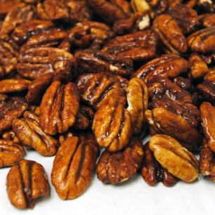 Honey Glazed Cinnamon Pecans - 1 Pound Bag