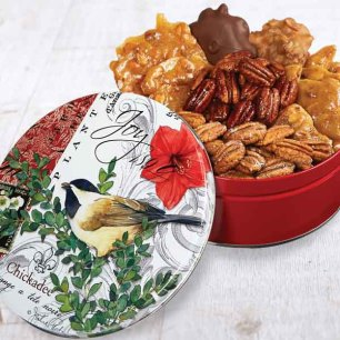 Joyful Chickadee Gift Tin