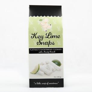 Flathau's Key Lime Snaps