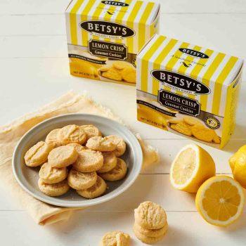 Lemon Crisps Cookies