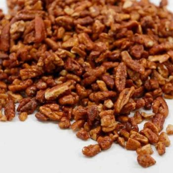 Honey Glazed Medium Pecan Pieces Bag