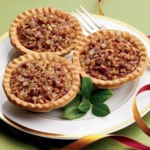 No Sugar Added Mini Pecan Pies - No Sugar Added Mini Pecan Pies - Economy Packaged