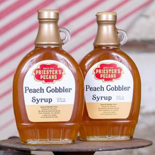 Peach Cobbler Syrup