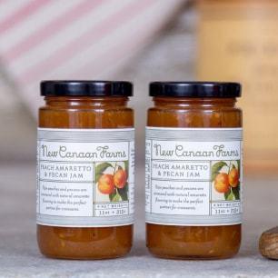 Peach Amaretto Pecan Jam