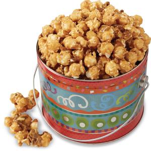 Pecan Brittle Popcorn Gift Tin